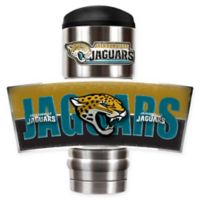 NFL Jacksonville Jaguars Stainless Steel 18 oz. Insulated Tumbler