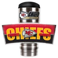 NFL Kansas City Chiefs Stainless Steel 18 oz. Insulated Tumbler