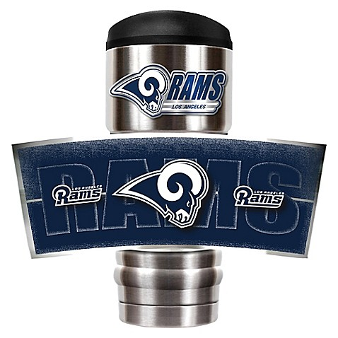 Nfl Los Angeles Rams Stainless Steel 18 Oz Insulated
