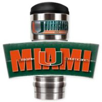 University of Miami Stainless Steel 18 oz. Insulated Tumbler