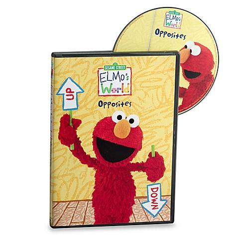 Sesame Street® Elmo\'s World® Opposites DVD - Bed Bath & Beyond