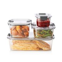 Rubbermaid Brilliance 8-piece Food Storage Container Set
