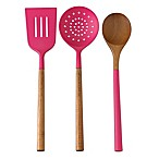 kate spade new york All in Good Taste™ 3-Piece Kitchen Utensils Set in Pink