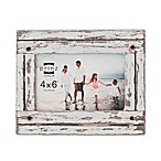 Printz Homestead 4x6  Distressed White Frame