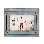 Prinz Homestead Wood 4-Inch x 6-Inch Picture Frame in Blue