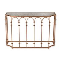 Sterling Industries Arched Console Table in Copper