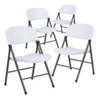 Buy Flash Furniture 8 Foot Plastic Folding Table In White