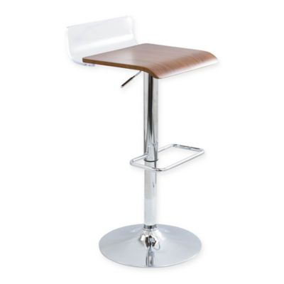 Buy Lumisource Dakota Adjustable Barstools In Grey Brown
