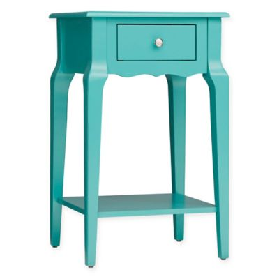 Verona Home Couri® Scalloped Apron Accent Table In Green