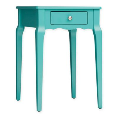 Verona Home Couri Accent Table In Caribbean Green