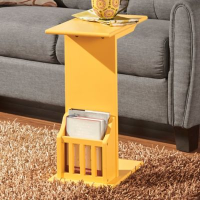 Good Verona Home® Fulton Magazine™ Snack Table In Sunshine