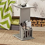 Verona Home® Fulton Magazine™ Snack Table in Smoke