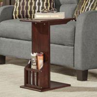 Verona Home® Fulton Magazine™ Snack Table in Espresso