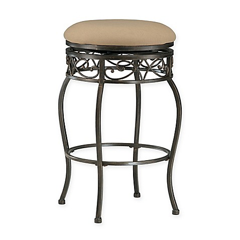 Buy Hillsdale Furniture Lincoln Swivel Counter Stool In