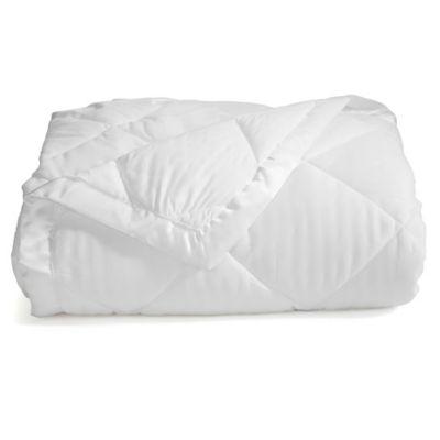 romana down alternative fullqueen blanket in white