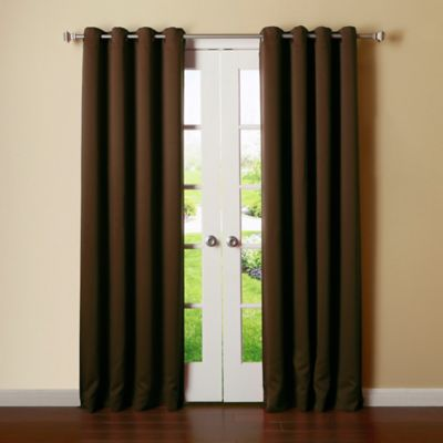Buy Chocolate Brown Curtain Panels from Bed Bath & Beyond