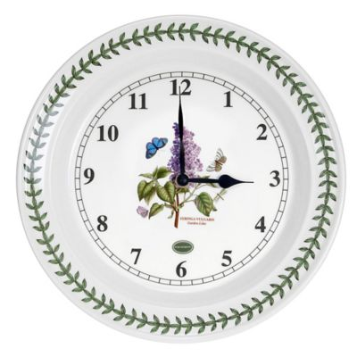 Portmeirion® Botanic Garden 10 Inch Kitchen Wall Clock
