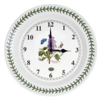 Portmeirion® Botanic Garden 10-Inch Kitchen Wall Clock