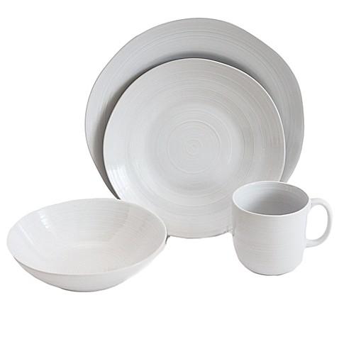Baum Flow 16-Piece Dinnerware Set in White  sc 1 st  Bed Bath u0026 Beyond & Baum Flow 16-Piece Dinnerware Set in White - Bed Bath u0026 Beyond