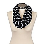 Itzy Ritzy® Nursing Happens™ Infinity Breastfeeding Scarf in Black Stripe
