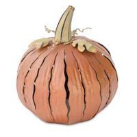 Desert Steel Squatty Pumpkin Lantern in Orange
