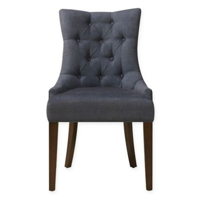 Pulaski Dining Chair In Darkwash Denim