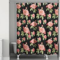 Rose Bunch Shower Curtain