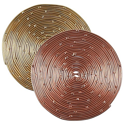 image of Thirstystone® Round Coiled Metal Coasters
