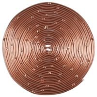 Thirstystone® Round Coiled Metal Coaster in Copper