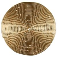 Thirstystone® Round Coiled Metal Coaster in Gold