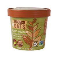 Modern Oats Apple Walnut 12-Pack 2.25-Ounce Oatmeal Cups