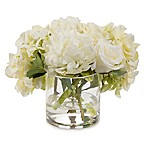 John-Richard 9-Inch Perfection Floral Arrangement in White/Green