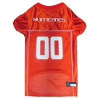 University of Miami Hurricanes Extra Small Pet Jersey