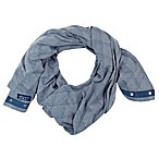 NüRoo® Nursing Scarf in Blue Diamond