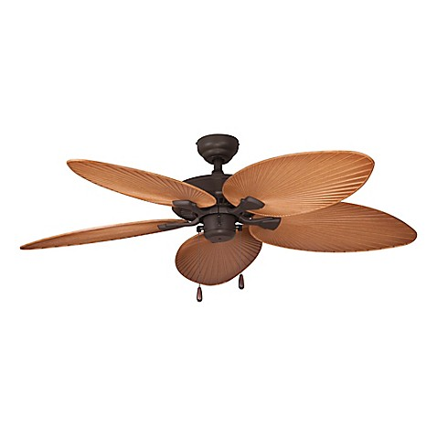 Aruba Bay 52 Inch Outdoor Ceiling Fan Wit Remote Control