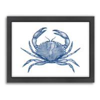 Americanflat Crab Quad 1 Framed Wall Art