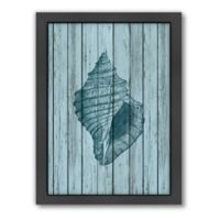 Americanflat Wood Shell 2 Wood-Framed Wall Art