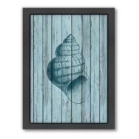 Americanflat Wood Shell 3 Wood-Framed Wall Art