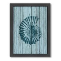 Americanflat Wood Shell 4 Wood-Framed Wall Art