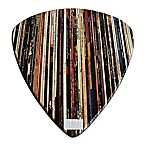 Wood Guitar Pick Wall Art