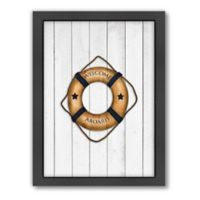 Americanflat Lifesaver Wood-Framed Wall Art