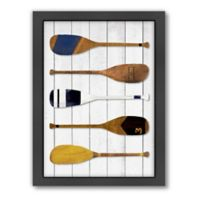 Americanflat Oars Wood-Framed Wall Art