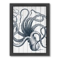 Americanflat Wood Octopus Wall Art