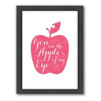 Americanflat Jilly Jack Designs Fruit Apple Matte Print with Frame