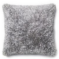Loloi Shaggy 22-Inch Square Throw Pillow in Grey