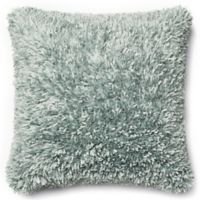 Loloi Shaggy 22-Inch Square Throw Pillow in Light Blue