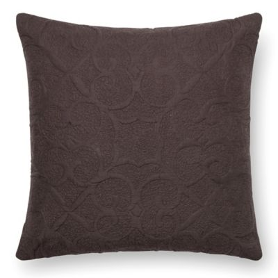 Wonderful Loloi Square Down Throw Pillow In Dark Brown