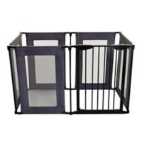 Dreambaby® Brooklyn Converta Play Pen Gate in Black/Grey
