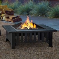 Real Flame® Lafayette Fire Pit in Black