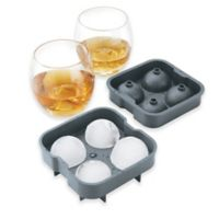 Brookstone 3-Piece Ice Ball Drink Set